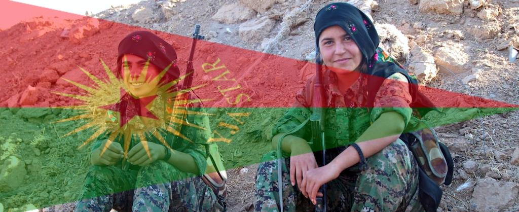 (0 Kurd Rojava YJA