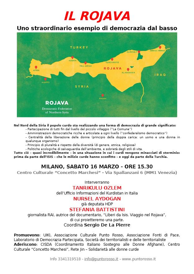 Rojava milano