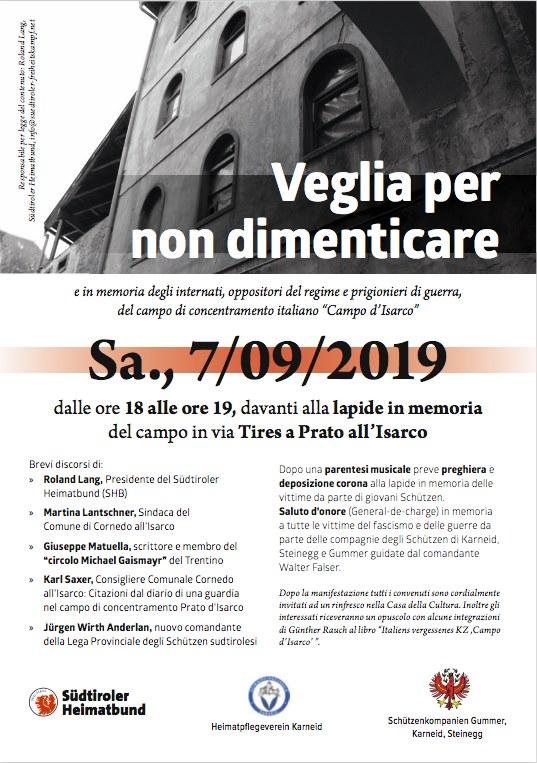 Prato Isarco 2019