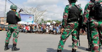 Indonesia-rafforza-la-sicurezza-in-mezzo-violento-West-Papua-proteste