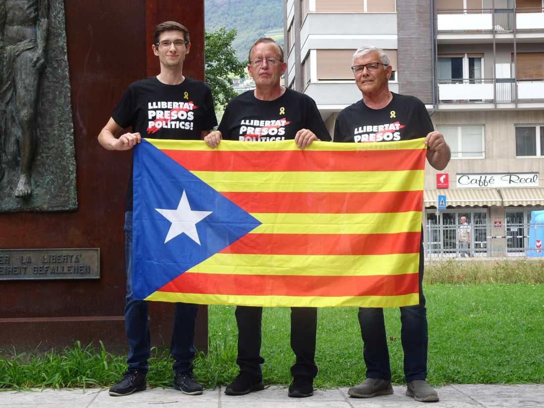Protest Katalanen August 2019 A