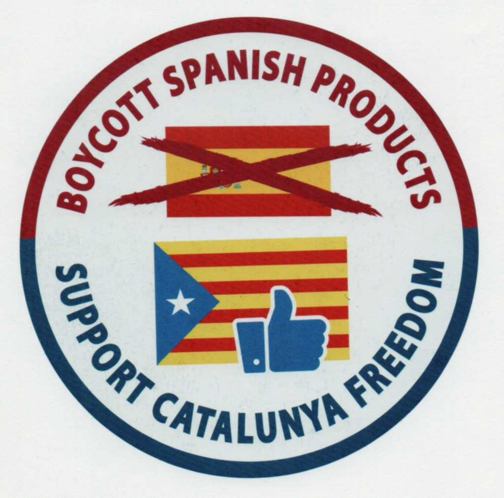 Support Catalunya Freeddom Aufkleber