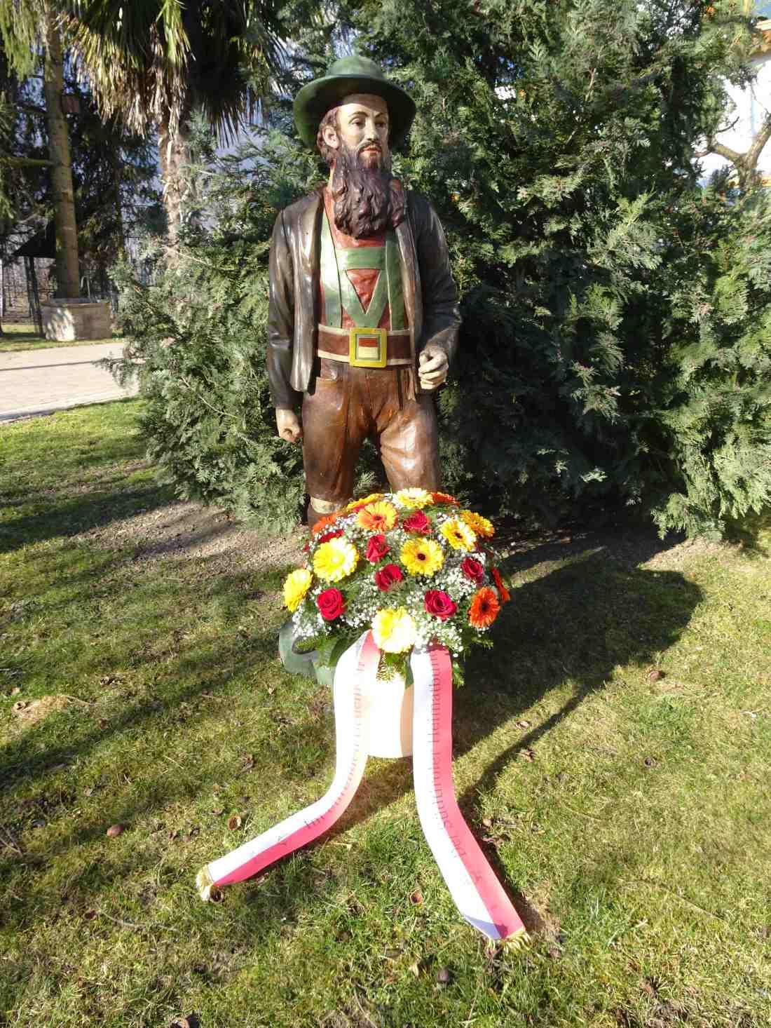 Andreas Hofer Statue Februar 2020
